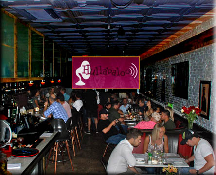 Hullabaloo Restaurant 517 Clematis Street West Palm Beach