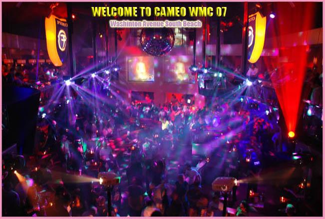 Florida Nightlife Nightclubs Cameo Nightclub Washington Avenue South Beach Miami Winter Music Conference Wmc Ultra